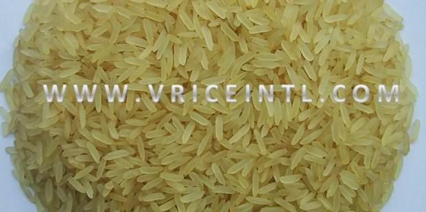 Thai Long Grain Parboiled Rice 100% sortexed (dark color)